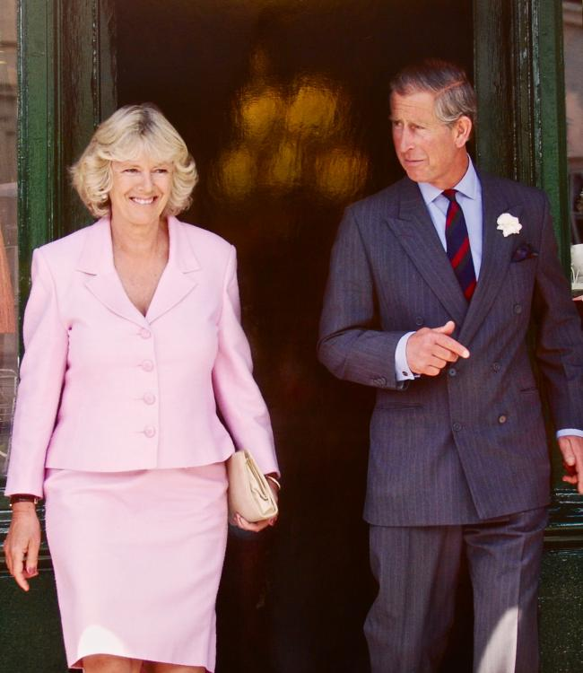 The Duke and Duchess of Cornwall. Picture: Herry Lawford/flickr
