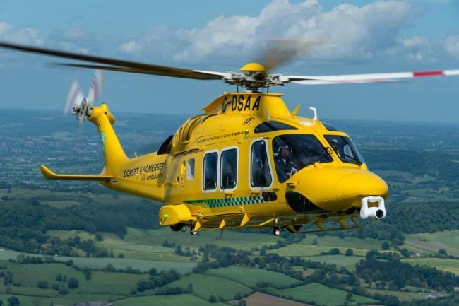 Dorset and Somerset Air Ambulance. Picture: Dorset and Somerset Air Ambulance