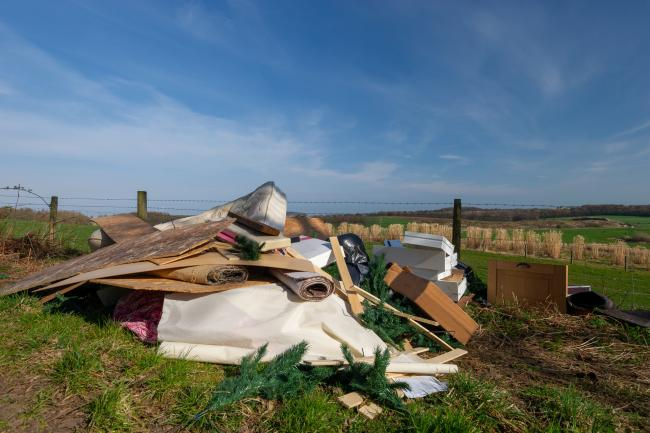 Nearly two-thirds of farmers have been a victim of fly-tipping
