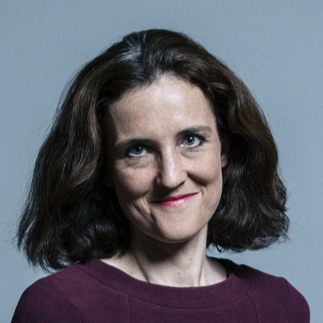 Theresa Villiers - UK Parliament official portraits 2017