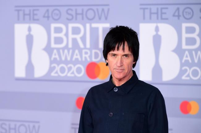 Johnny Marr at the Brits