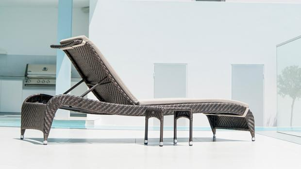 South West Farmer: This chaise lounge is the perfect place to sunbathe. Credit: Primrose