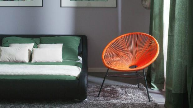 South West Farmer: This cool chair has a distinctly modern vibe. Credit: Wayfair