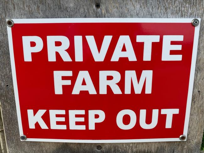 Dorset Police are asking farmers to be vigilant