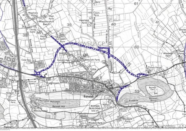 The Banwell bypass route