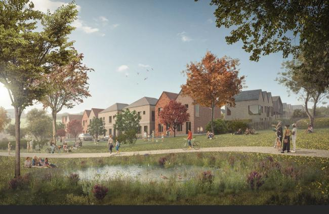 How the Langarth Garden Village could look when completed