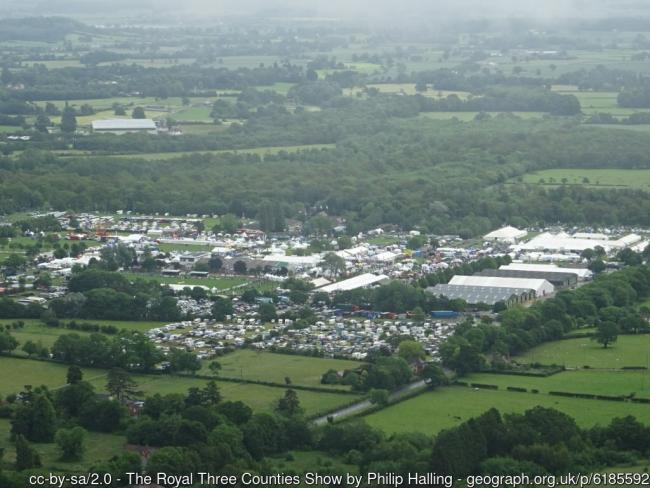 Three Counties Show in the Malvern Hills, 2019