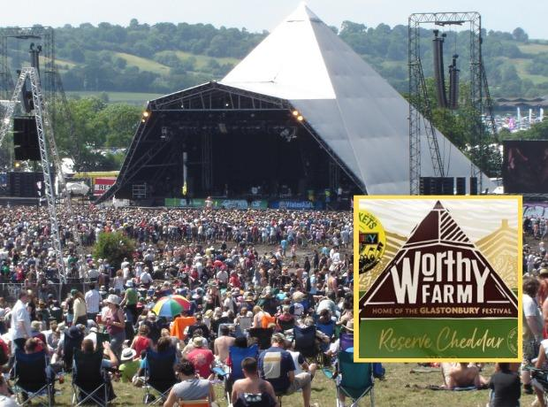 The Pyramid stage at Glastonbury. Picture: Paul Holloway