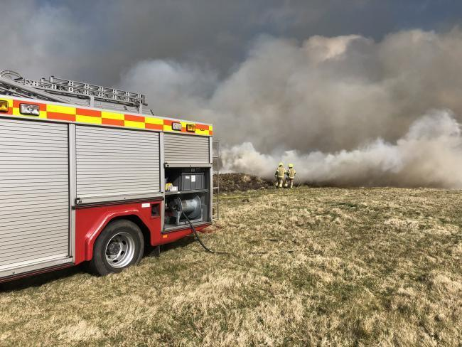 Cornwall Wildlife Trust is 'deeply saddened' by Monday's fire at Bartinney Downs Nature Reserve.