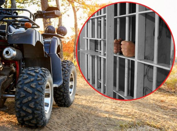 Maurice Cooper has been jailed for stealing a quad bike
