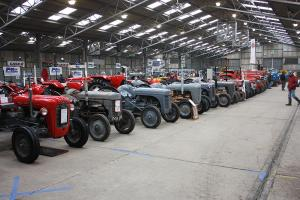 Triumphant return for tractor show