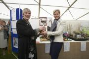 HRH The Countess of Wessex presents the RCAA Silver Challenge Cup at the 2014 Royal Cornwall Show