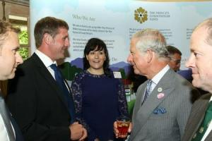 Local farming network invited to royal celebration