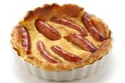 Pork is delicious in many different meals, including toad in the hole.
