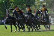 KING'S TROOP TO TAKE ROYAL THREE COUNTIES SHOW BY STORM. Photo: Sergeant Steve Blake RLC