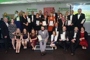 Buy pictures from the 2017 South West Farmer Awards. Search for 'farming awards'