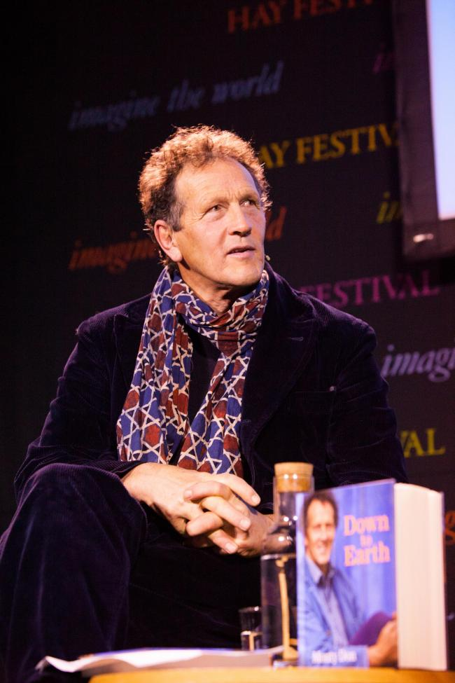 Monty Don will be speaking at Hay Festival 2018