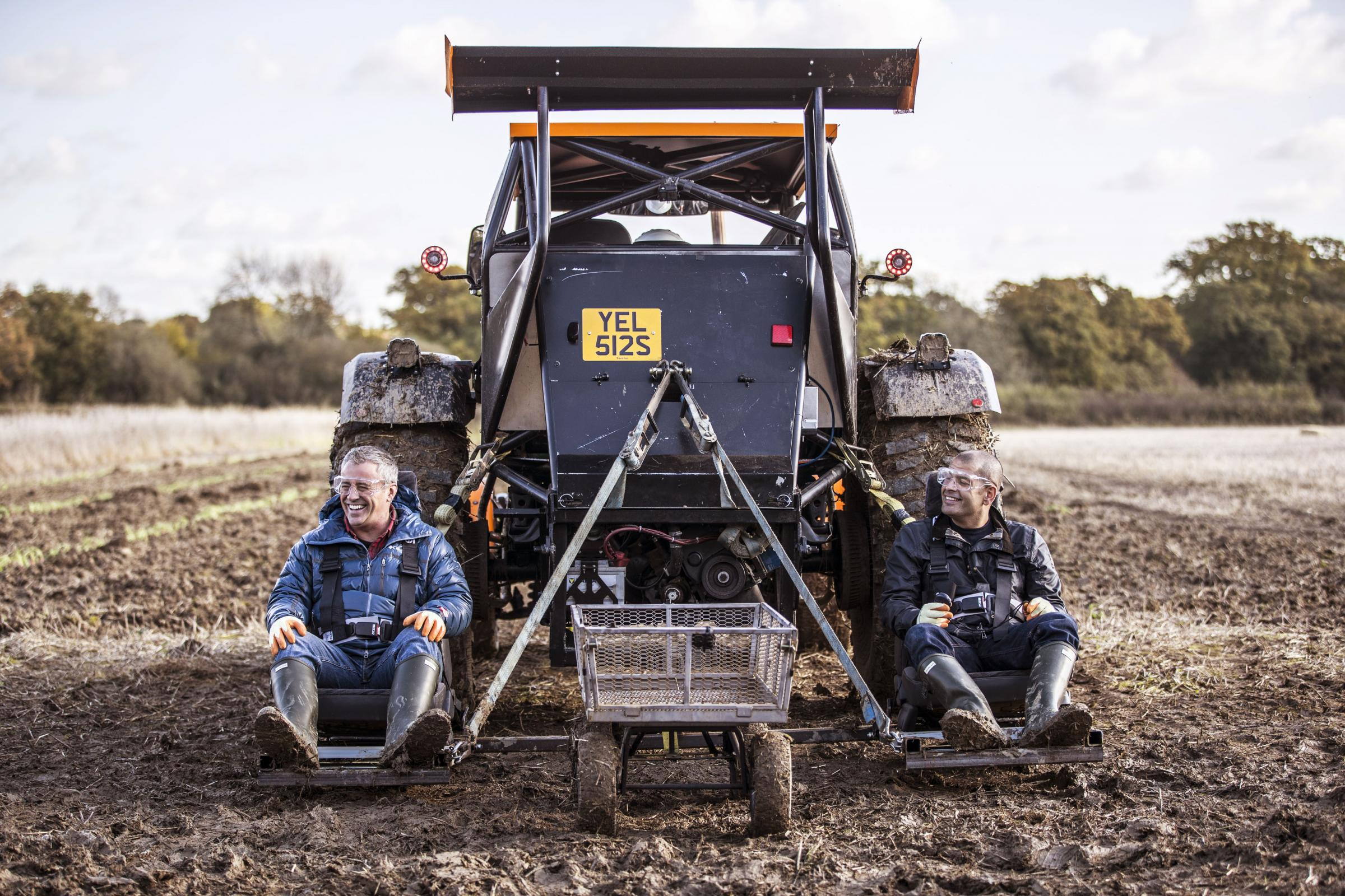 World's fastest tractor created by Top Gear