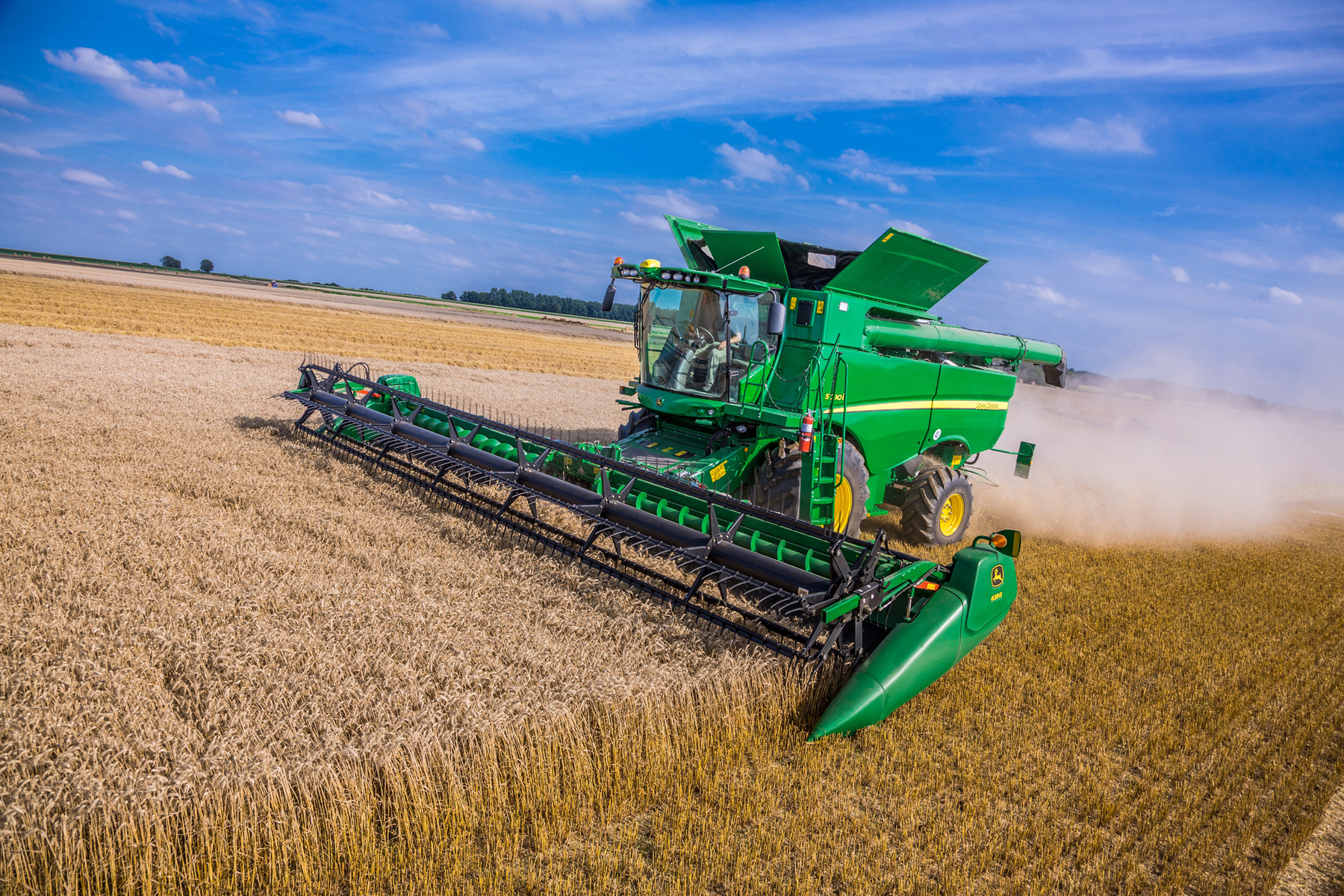 John Deere Wins At Techagro For Combine And Planter Technology