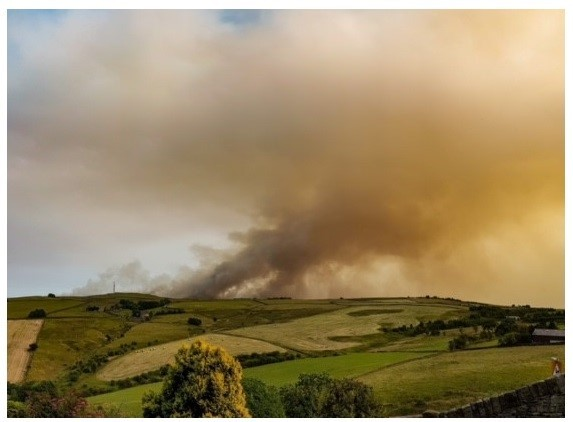 Farmers being warned of risk of fire in heatwave