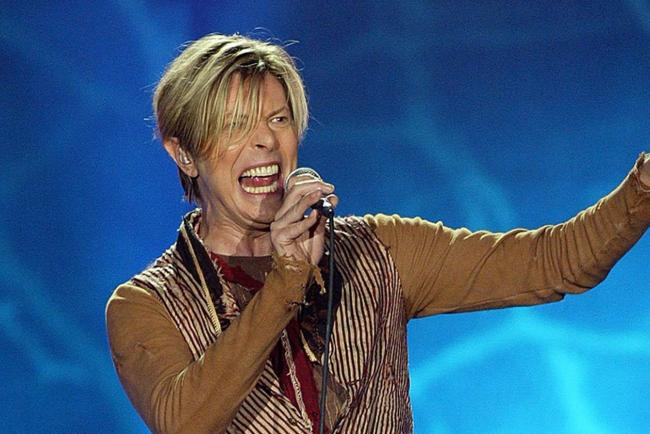David Bowie singing