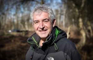 Tony Juniper CBE confirmed as the new Chair of Natural England.image: Eleanor Church