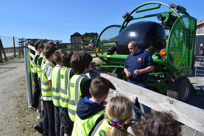 St Francis Primary School, Falmouth, was one of 32 schools across Cornwall that attended the event