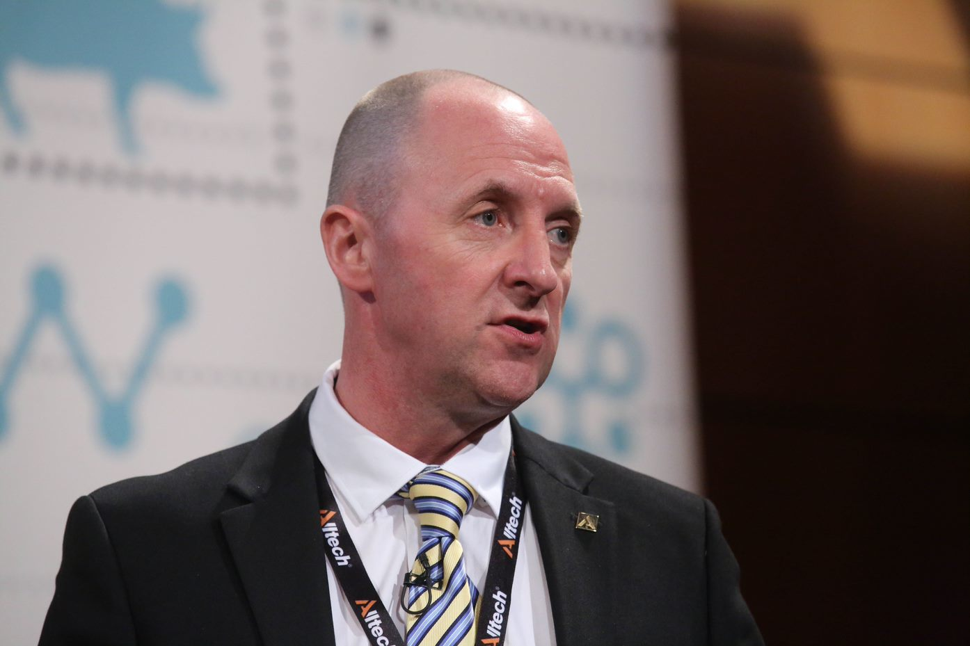 Ian Leach, Alltech's retail programmes manager, chaired the ruminant session at the summit