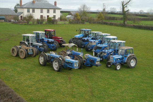 One of UK's largest collections of classic tractors up for