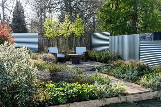 Nature's Takeover, designed by Diego Carrillo, Best Garden at RHS Flower Show Cardiff 2019. Image: RHS / Jason Ingram