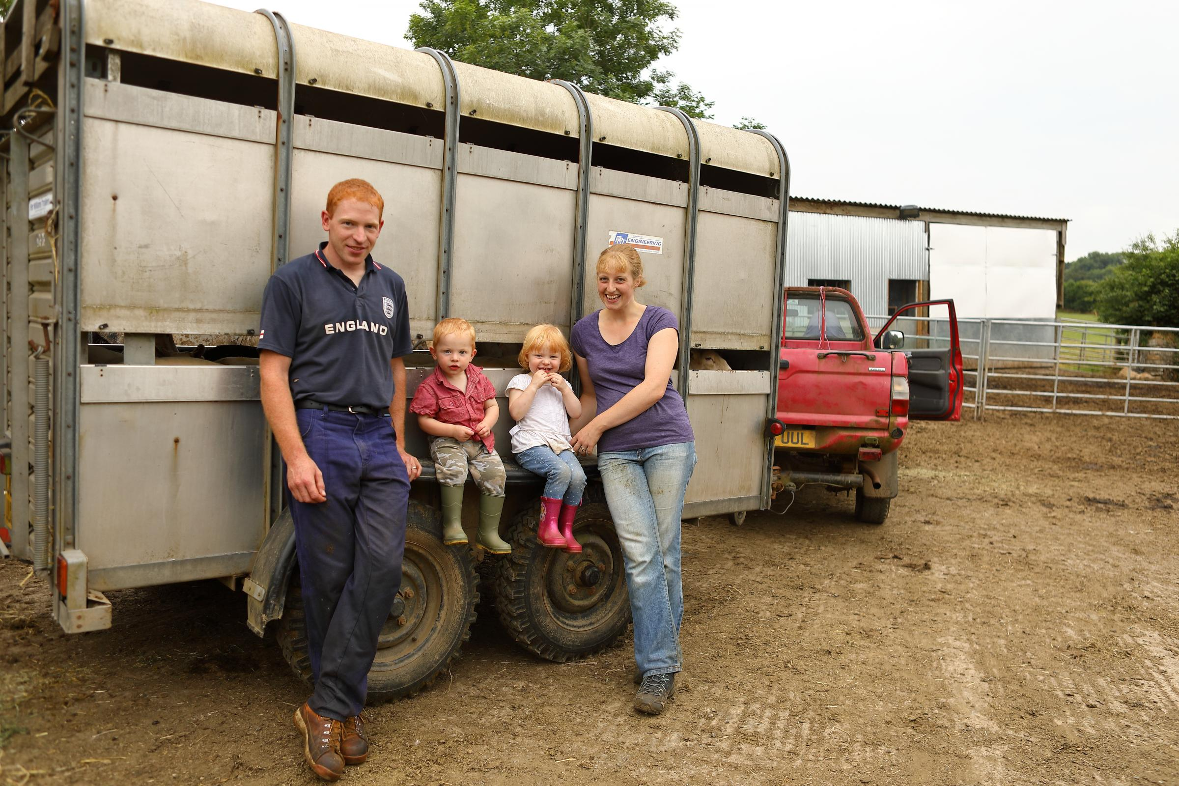 Mark & Isobelle Delbridge from Plushayes Farm in Liskeard will be featured in tonight's episode of Devon and Cornwall. Image: True North
