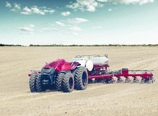The Case IH autonomous concept vehicle