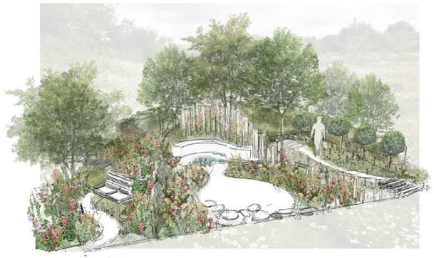 BBC Springwatch Garden will encourage visitors to help wildlife in their gardens